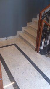 parapety i schody