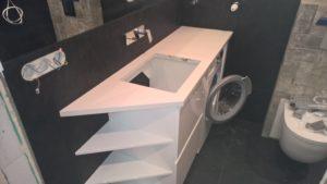 blaty łazienkowe z konglomeratu